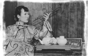 【安徽图片】四个疯女人的宏村古装自拍行