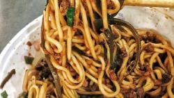 武汉美食-陈记炸酱面(黄陂街店)