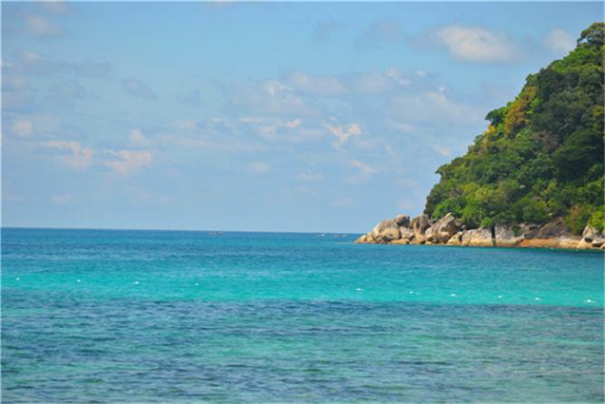 孤独的你,总有碧海蓝天作伴——停泊岛 热浪岛 浪中岛