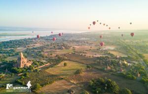 【茵莱湖图片】做人,总要信—航拍缅甸,沉醉于每个日出日落的时分