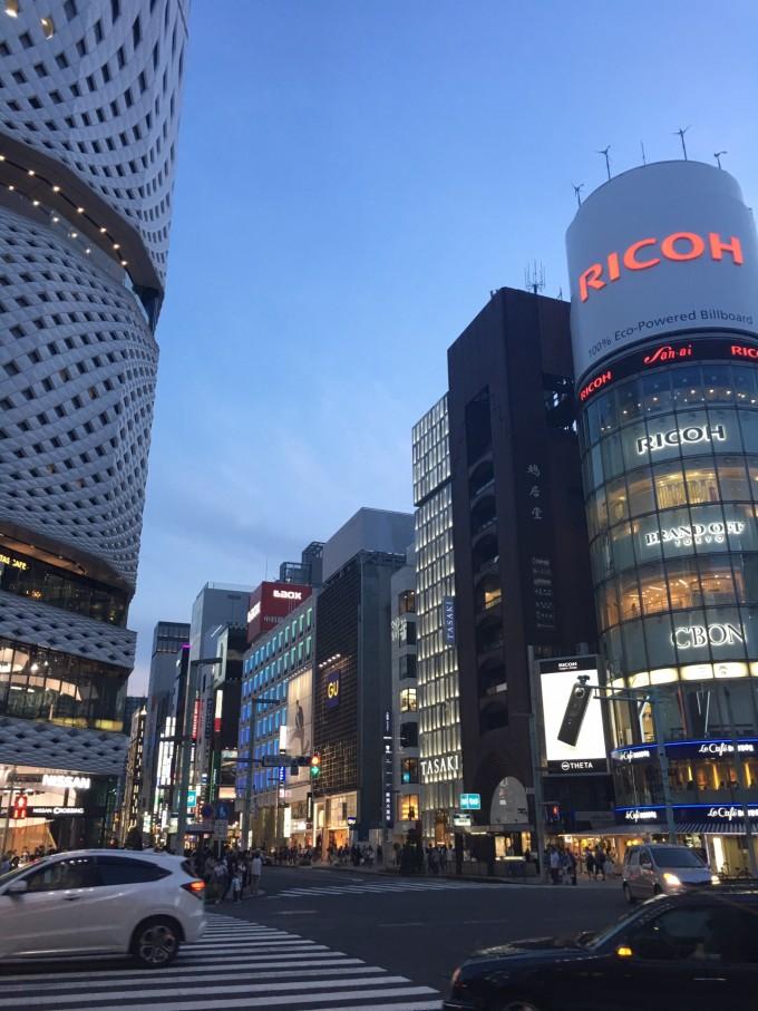 东京银座高清风景