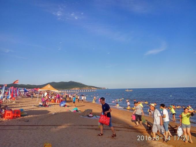 家乡美---葫芦岛(龙湾海滨,和平广场,龙湾观光栈道,龙