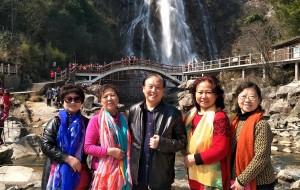 【岳西图片】安徽岳西彩红瀑布  温泉之行2017年02月27日——28日