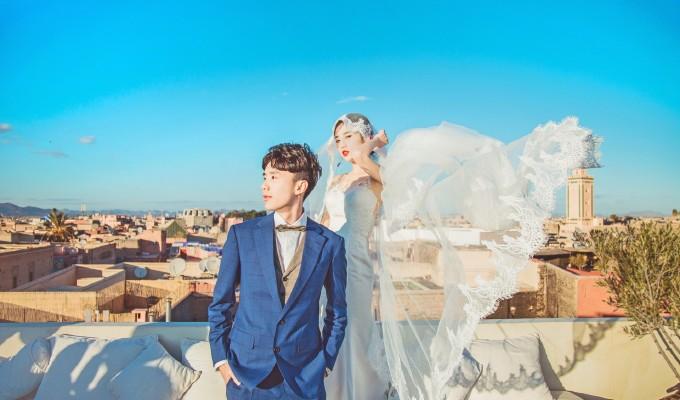 婚纱 婚纱照 680_400图片