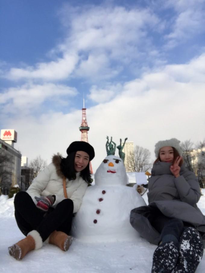 北海道初体验-小茉莉冰天雪地跨个年,北海道旅游攻略