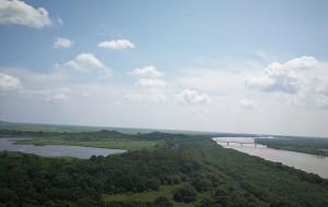 【珲春图片】边境之行(一):一眼望三国——珲春