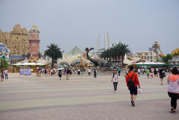 常州 中华恐龙城8月5号 1日游 2人出游 常州恐龙园游记