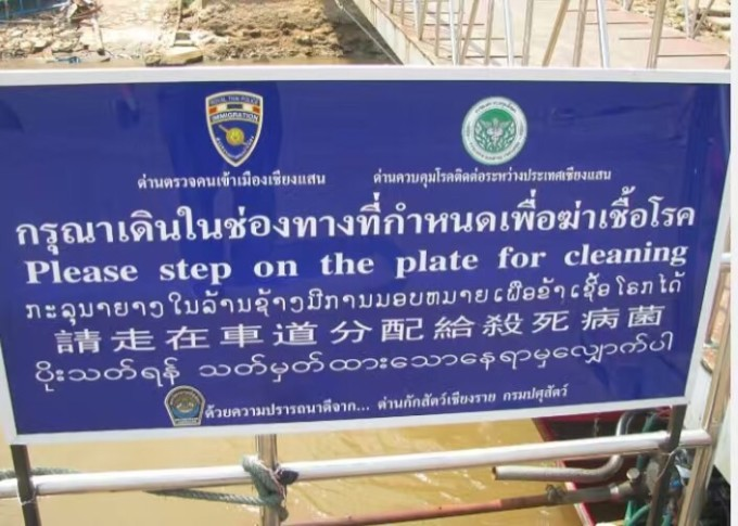 从金三角到老挝木棉岛