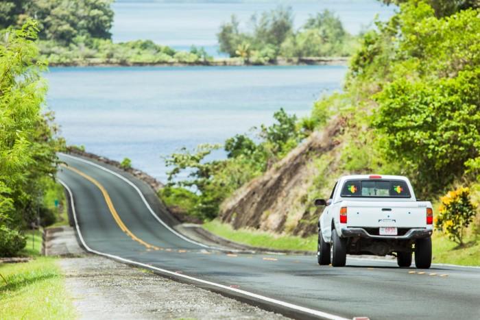去帕劳自驾环岛游,驾照是国内的,可以吗