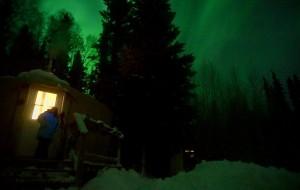 【费尔班克斯图片】追极光的人儿-你要的阿拉斯加在这里
