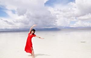 【乌兰图片】迷失在茶卡盐湖-青海七天大环线