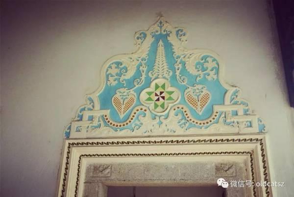 潮汕古风建筑(三)岭南第一侨宅~陈慈黉故居   另一特色是西洋雕花,花