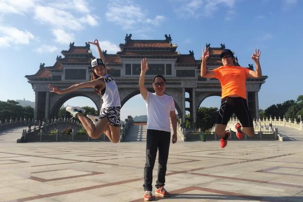2016优悦·李宁10公里路跑联赛(北京站)  2016年10月23日@青岛达宾汉