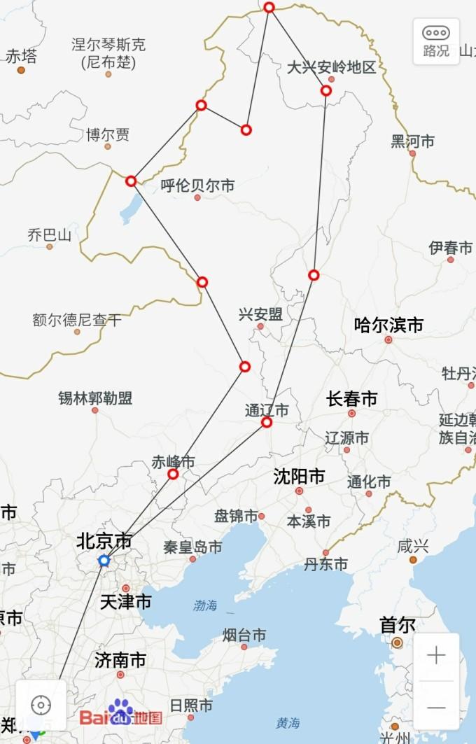 上海路线图手绘版简单