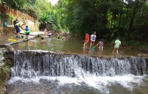 【九龙图片】成都周边一日游耍水 洗野澡——崇州九龙沟