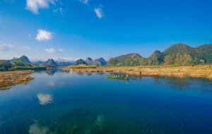 【普者黑图片】普者黑的那一片山水之间(日出、青龙山、泛舟、天鹅湖)