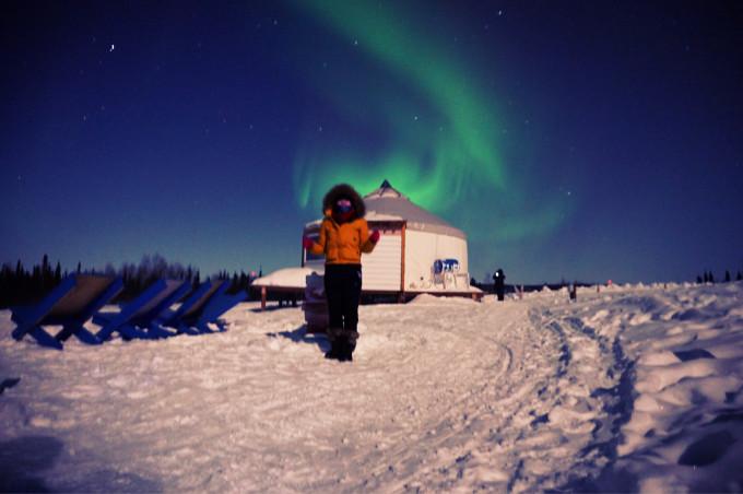 冬天的阿拉斯加 - 不一样的冰天雪地