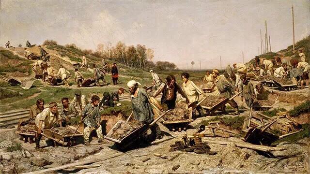 1886年,布面油画  我看着像女巫♀ 瓦西里·马克西莫维奇·马克西莫夫图片