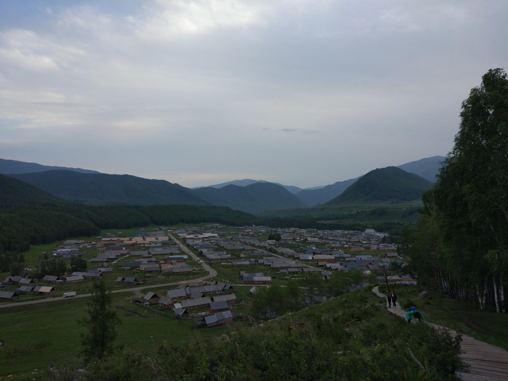 喀纳斯图瓦人的村庄——禾木 (2016年8月)_游记