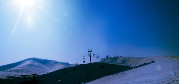 雪莲山高尔夫滑雪场