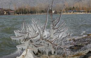 【常熟图片】雪后的尚湖
