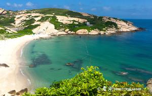 【珠海图片】庙湾——万山群岛的梦幻之岛