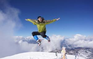 【哈巴雪山图片】哈巴雪山---独自登顶享受雪山之巅 《   耗子出洞   》