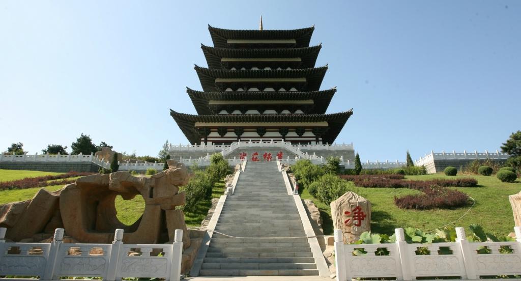 辽宁沈阳佛教圣地,中华寺旅游风景区