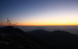 【临海图片】括苍山,风车下的beautiful!