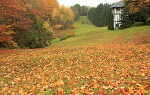 【加勒图片】乡村秋色---加拿大小镇