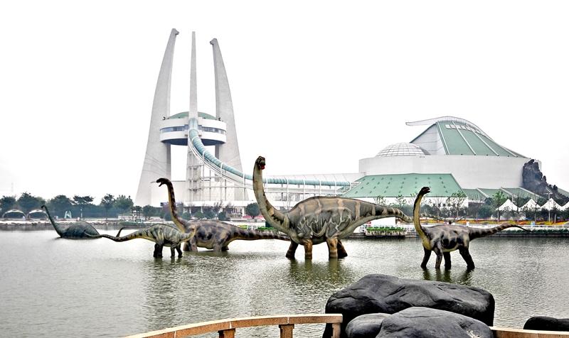 常州恐龙园旅游图片