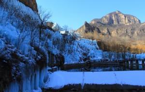 【平山图片】初五沕沕水观冰瀑