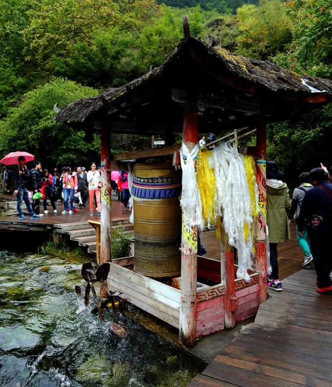九寨沟 黄龙 锦里 武隆 用水彩笔画出来的童话世界