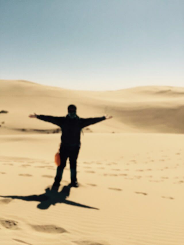 2015内蒙古库伦旗沙漠徒步穿越