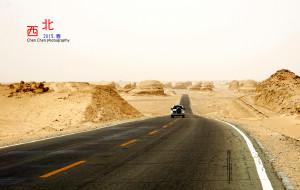 【海西图片】大漠孤烟西北偏北 - 我的青海柴达木之旅