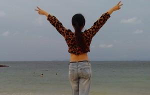 【庙湾岛图片】庙湾岛,残缺也是美