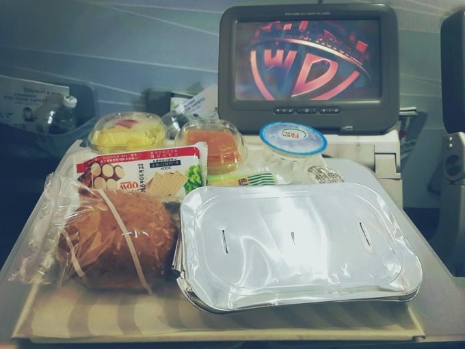 芬航飞机餐还是不错的喔