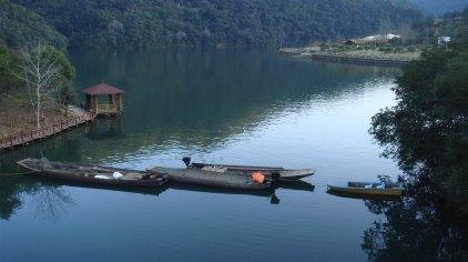 九鹏溪风景区位于福建省龙岩漳平市南洋乡,是天台山国家森林公园
