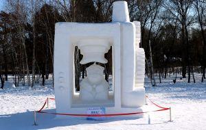 【太阳岛图片】哈尔滨太阳岛公园雪雕展