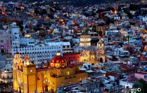 【墨西哥图片】【宝藏纪念】亘古时代的彩色种子--走在瓜纳华托