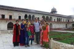 南亚印度佛教之行...亚格拉城堡风景区实拍