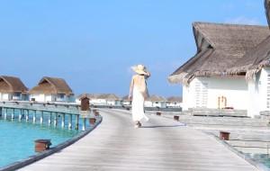【马累图片】马尔代夫,中央格兰德岛上一场湛蓝的邂逅