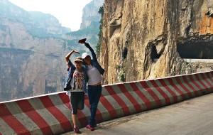 【长治图片】[天路入云   绝壁长廊 ]   穿越山西穽底挂壁公路