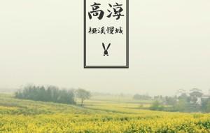 【高淳图片】#游记小赛#高淳,唱一句阳腔,许你一片金色花田
