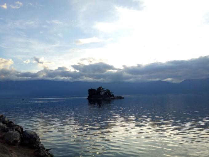 大理环海东路风景
