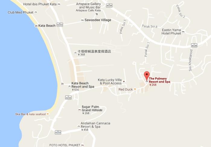 普吉岛白茉莉酒店在哪里》?