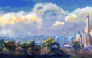 【上海迪士尼度假区图片】上海迪士尼乐园的圣诞童话之旅……