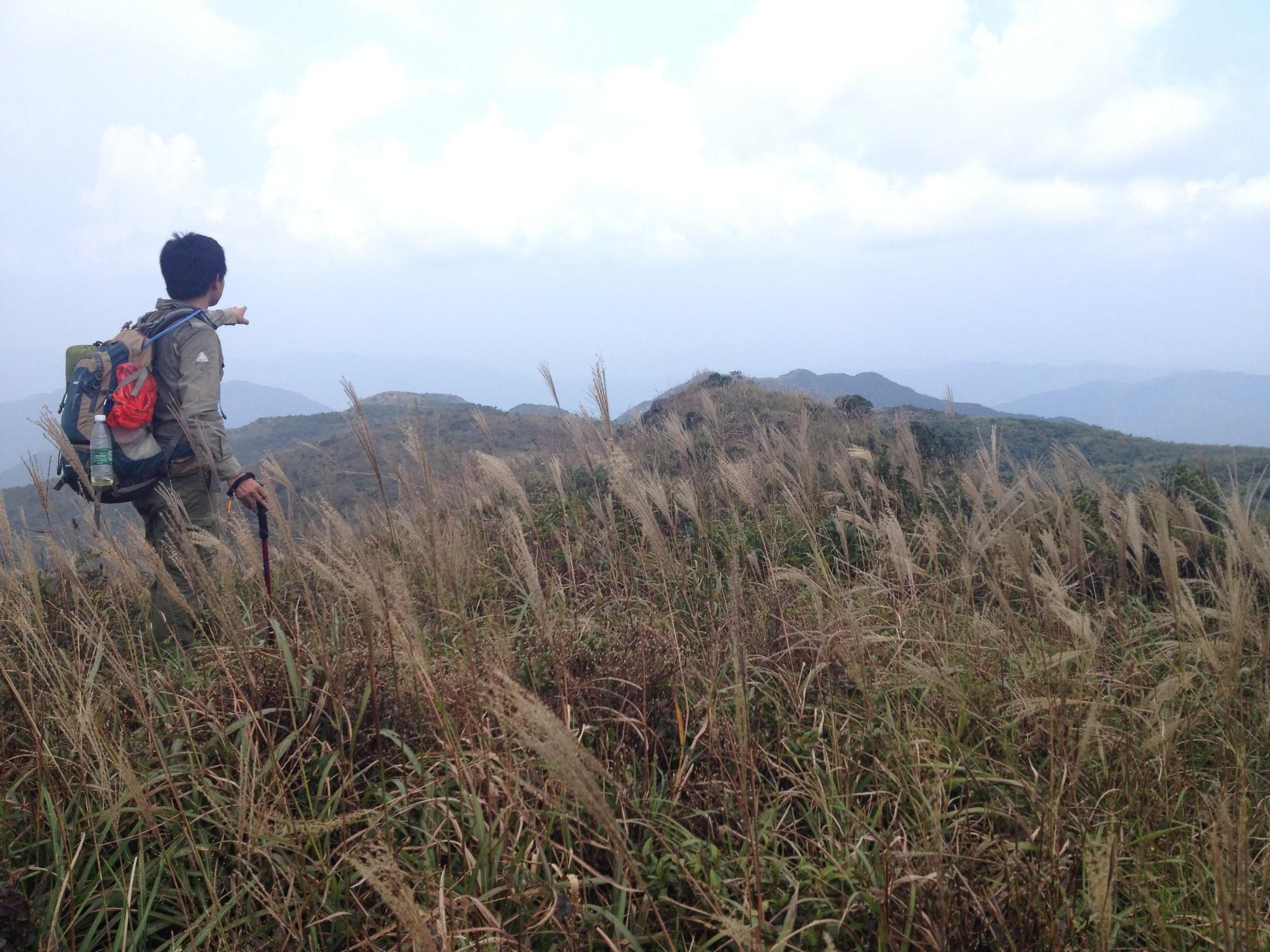 惠州四方山环线穿越攻略