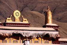 昌珠寺系吐蕃时期第一批兴建的佛教寺庙之一
