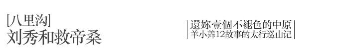[八里沟] 刘秀和救帝桑